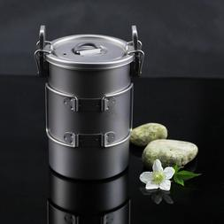 0.9L Titanium Outdoor Camping Picnic EDC Backpacker Cooker P