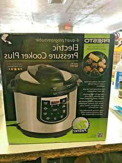 Presto 02141 6-Qt. Electric Pressure Cooker