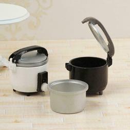 1:12 Miniature Rice Cooker Food Steamer Warmer Kitchen Cookw