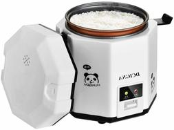 1.2L Mini Rice Cooker, Electric Lunch Box, Travel Rice Cooke