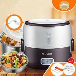 1.3L 220V Electric Stainless Steel Mini Steamer Rice Cooker