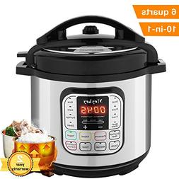 MeyKey 10-in-1 Intelligent Pressure Cooker, Slow Cooker, Ric