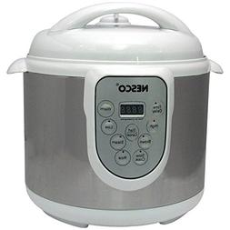 4-in-1 Digital Pressure Cooker 4-Liter
