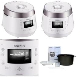 Cuckoo 10-Cup High Pressure Rice Cooker In White
