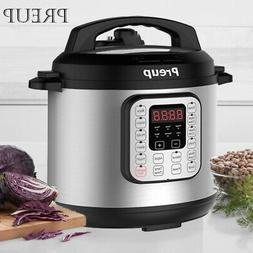 1000W Digital Instant Pressure Cooker 6 litre 7-in-1 Multi f