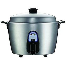 11 Cup Stainless Steel Rice Cooker TAC-11KN, stews, steams,