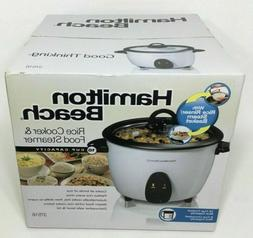 Hamilton Beach 16 Cup Rice Cooker & Food Steamer 37516