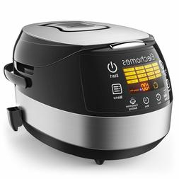 16 in 1 Multi Function LED Touch Control Rice Cooker w/Steam