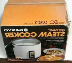 1984 Vintage Sanyo Rice Cooker EC-230 10-Cup brand new in op