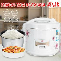 2/3L Electric Rice Cooker Non-Stick Household Cook Cooking P