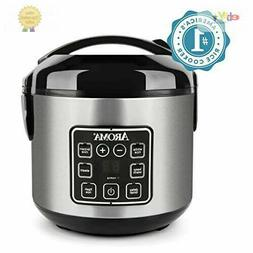 Aroma Housewares 2-8 Cup Digital Cool-Touch Rice Cooker & Fo