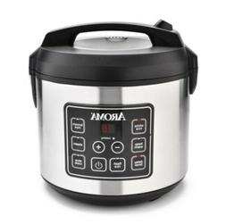 Aroma 20-Cup Programmable Digital Rice Cooker, slow cooker,