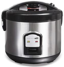 20-Cup Rice Cooker Non Stick Removable Pot Automatic Shut Of