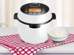 Cuchen 2017 Rice Cooker 3-4 Persons 220 Volt LCD White Color