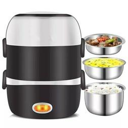 220V Mini Electric Rice Cooker 2/3 Layers Available Steamer