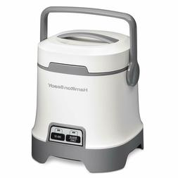 Hamilton Beach 25502 Oatmeal and Rice Cooker, 3-Cup Capacity