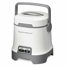 Hamilton Beach 25502 Oatmeal and Rice Cooker 3-Cup Capacity