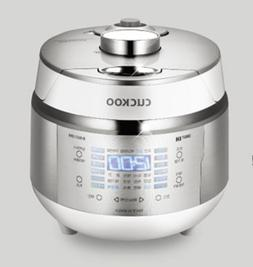 Cuckoo 3-Cup 2X Pressure Electric Rice Cooker & Warmer 220 V