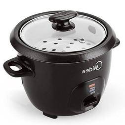 Midea 3-Cup Cooked,1.5 Cup Uncooked Small Rice Cooker with F