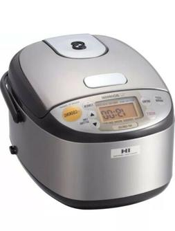 Zojirushi 3 Cup Induction Rice Cooker & Warmer- Stainless Br