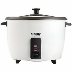 Aroma 32-Cup , 16-Cup  Pot Style Rice Cooker, White ARC-7216