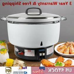 35/75/115 Cup Natural Gas Rice Cooker Non Stick Pot Commerci