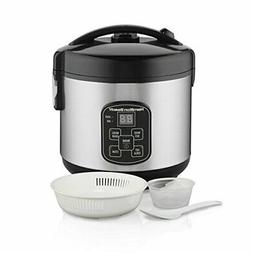 Hamilton Beach  Rice Cooker, 4 Cups uncooked resulting in 8