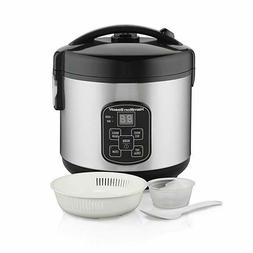 Hamilton Beach 37518 Rice Cooker 4 Cups Uncooked Resulting I