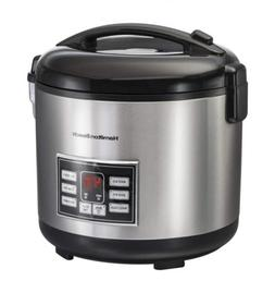 Hamilton Beach  Rice Cooker, 10 Cups uncooked resulting in 2