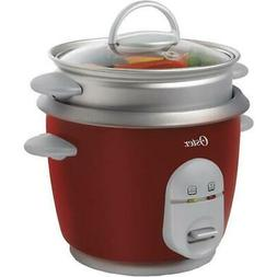 Oster 4722000000 6-Cup Rice Cooker In Red
