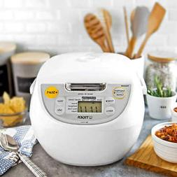 Tiger 5.5-Cup Micom Rice Cooker and Warmer