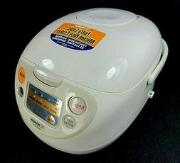 Zojirushi 5.5-Cup Rice Cooker Warmer Fuzzy Logic Micom NS-WX