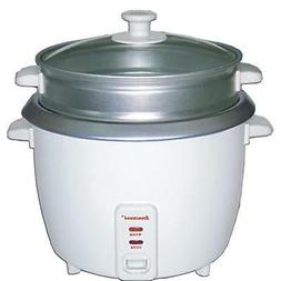 Brentwood 5 Cup Rice Cooker/Non-Stick with Steamer