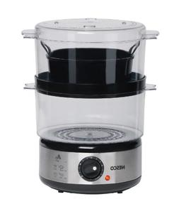 Nesco 5 Qt BPA Free Food Steamer with Rice Bowl - 400 W - 1.