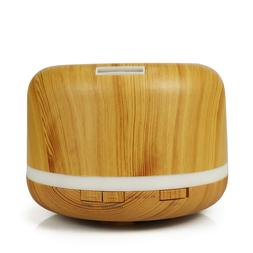 500 Ml Colorful Air Humidifier Mute Household Wood Grain Cre
