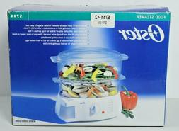 Oster 5711 Food Steamer Electronic 2 Tier 6.1 Quart - BRAND
