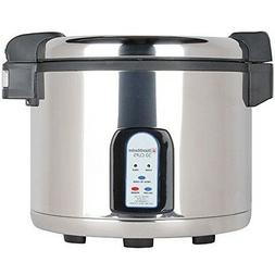 Town 57130 RiceMaster Rice Cooker/Holder electric 30 cup cap