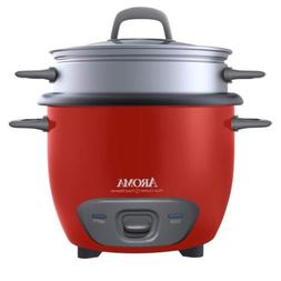 Aroma Housewares 6-Cup   Pot Style Rice Cooker and...