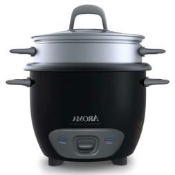 Aroma Housewares 6-Cup  Pot-Style Rice Cooker and Food Steam