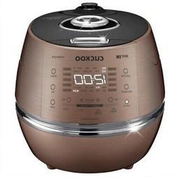 CUCKOO 6 Cup Smart IH Pressure Rice Cooker CRP-DHXB0610FB Ko