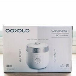 CUCKOO 6 Cups IH Pressure Rice Cooker CRP-LHTR0610FW Twin Pr