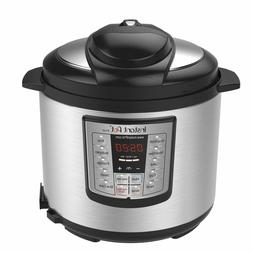 Instant Pot Cooker 6 Quart Programmable Rice Slow Saute Stea