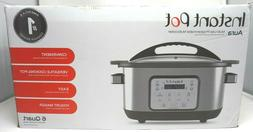 Instant Pot 6 Qt Aura Multi-Use Programmable Multicooker, Si