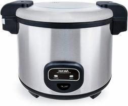 Aroma Housewares 60-Cup   Commercial Rice Cooker, Stain