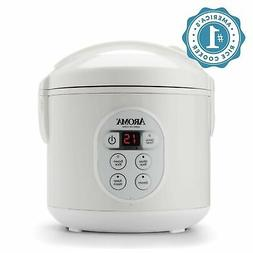 Aroma 8-Cup Digital Rice Cooker and Food Steamer
