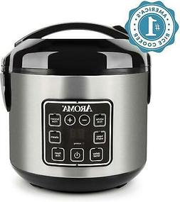 Aroma 8-Cup Programmable Rice And Grain Cooker, Steamer Easy