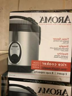 1f0a2cdec Aroma 8 Cup Rice Cooker - Stainless Stee.