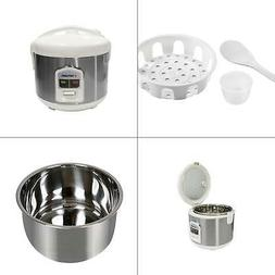 8-cups  rice cooker with stainless steel inner pot