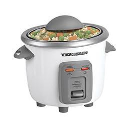 Black & Decker Rice Cooker, Rice Cooker & Warmer, 3 Cup