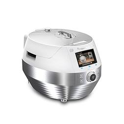 Cuchen Troy White IH Pressure Rice Cooker with Smart Color L